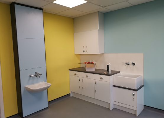 The CAMHS relocation project is almost complete