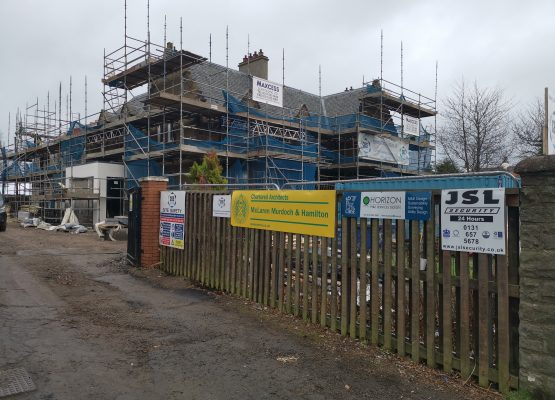 Progress at 432 Lanark Road