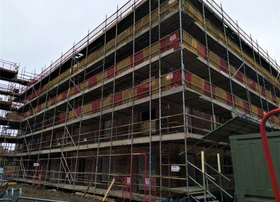 Progress at the Supported Living site at West Bowling Green Street